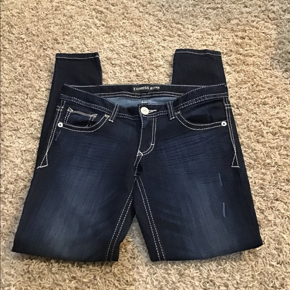 Express size 6R skinny jeans